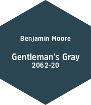 Benjamin Moore Gentlemans Gray