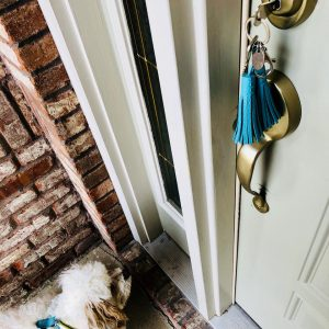 New House Tassel Key Chain and Max