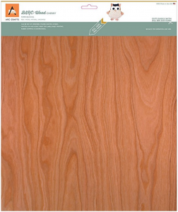 Arc Crafts Barc Wood Sheet W/Paper Backing 12