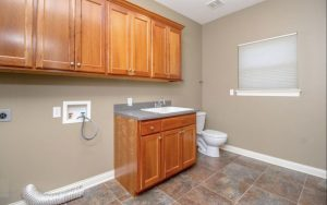 Laundry Room - Original Wood